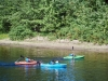 Kids kayaking