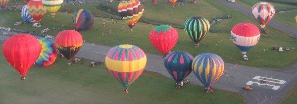 Air Balloons over Festival